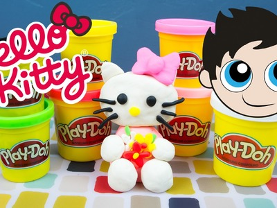 Hello Kitty Play-Doh Tutorial