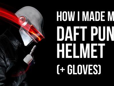 How I Made My Daft Punk Helmet