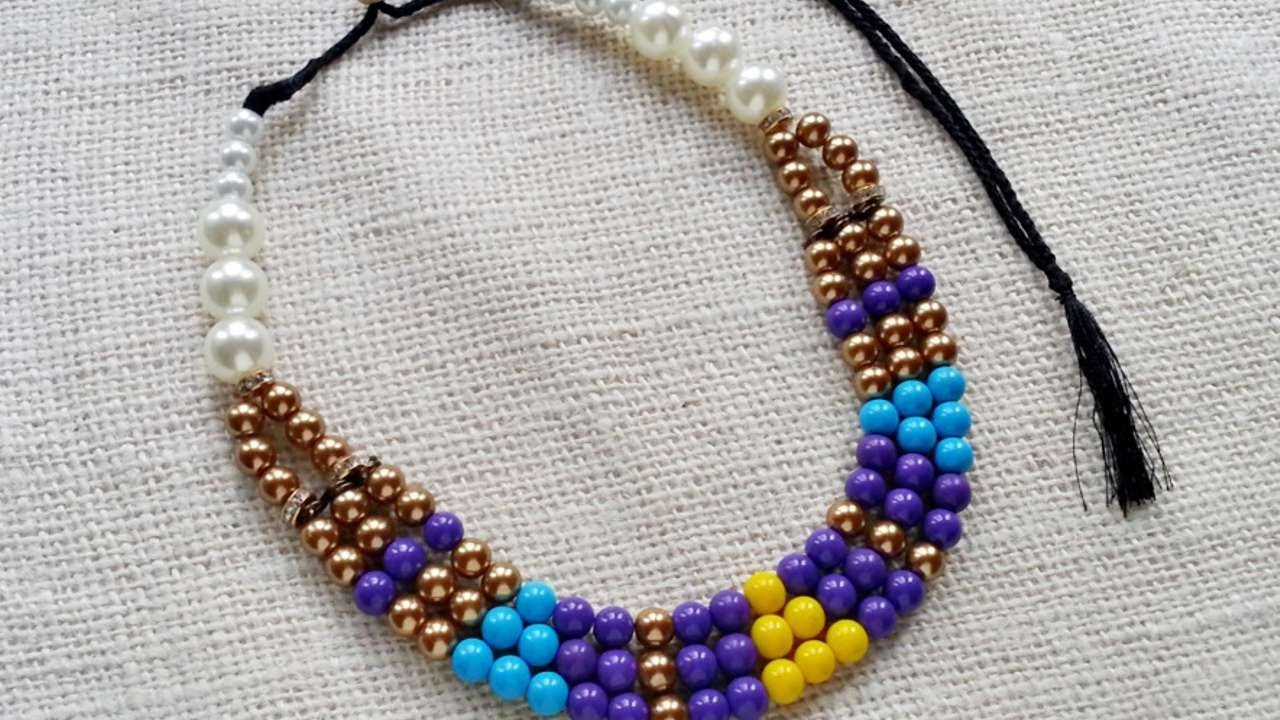 How To Create An Ethnic Style Beaded Necklace - DIY Style Tutorial - Guidecentral