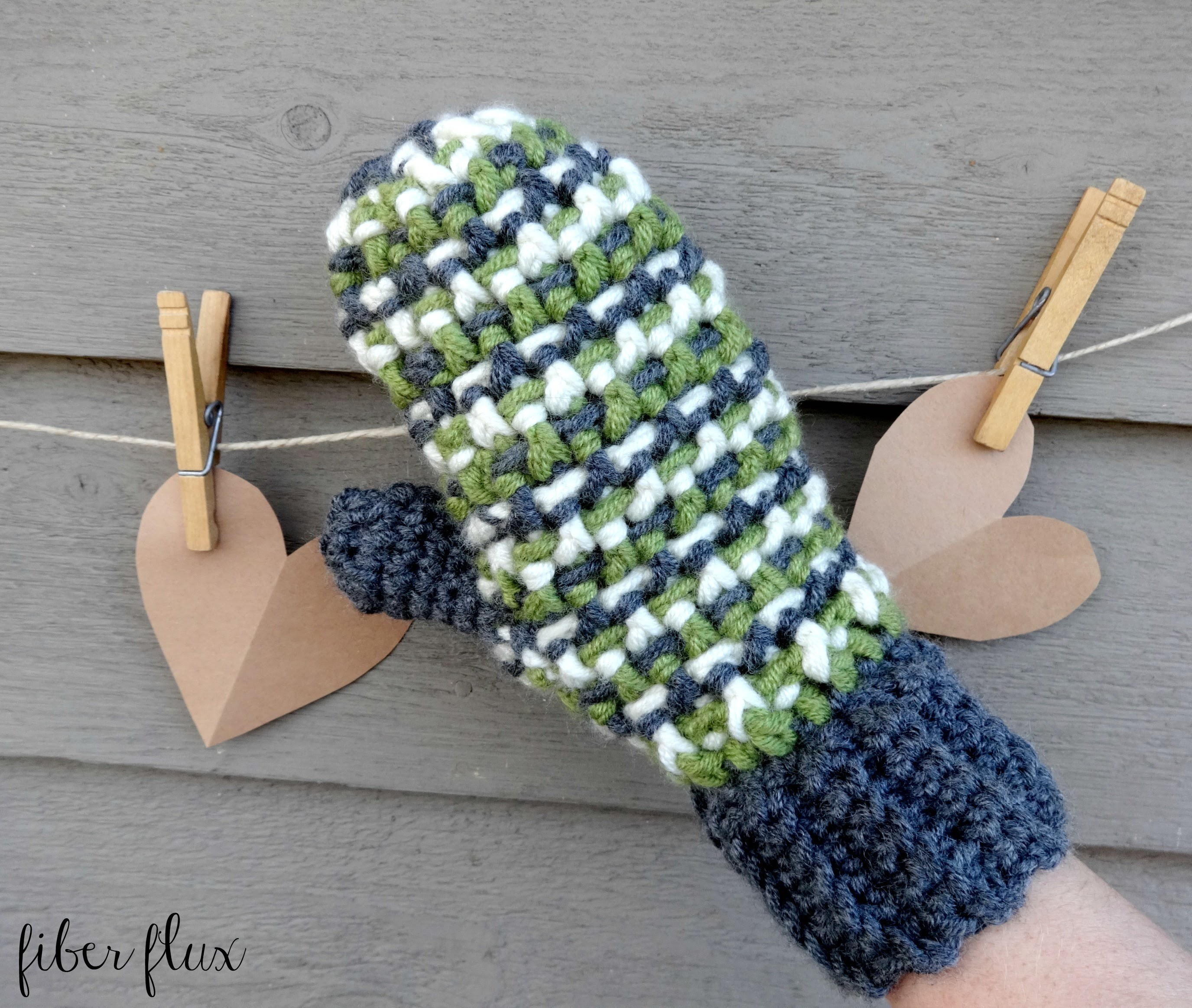 How To Crochet the Sleigh Ride Mittens, Episode 267