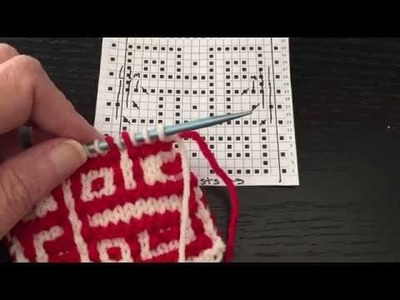 How to Increase in Mosaic Stitch Knitting