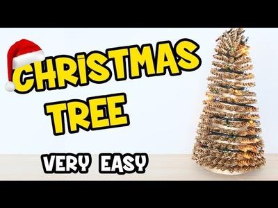How to Make a Christmas Tree | Easy Christmas DIY