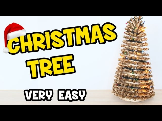How to Make a Christmas Tree | Easy Christmas DIY