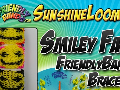 How to make a FriendlyBands - Smiley Face Bracelet Tutorial