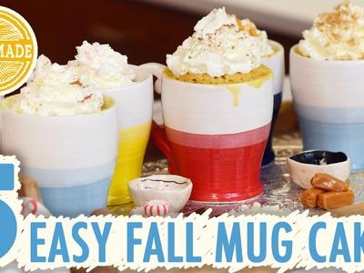 How To Make a Pumpkin Spice Mug Cake and More in 2 Minutes - HGTV Handmade