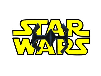 How to make an easy origami Star Wars TIE Fighter-DYI simple origami Star Wars paper plane tutorial