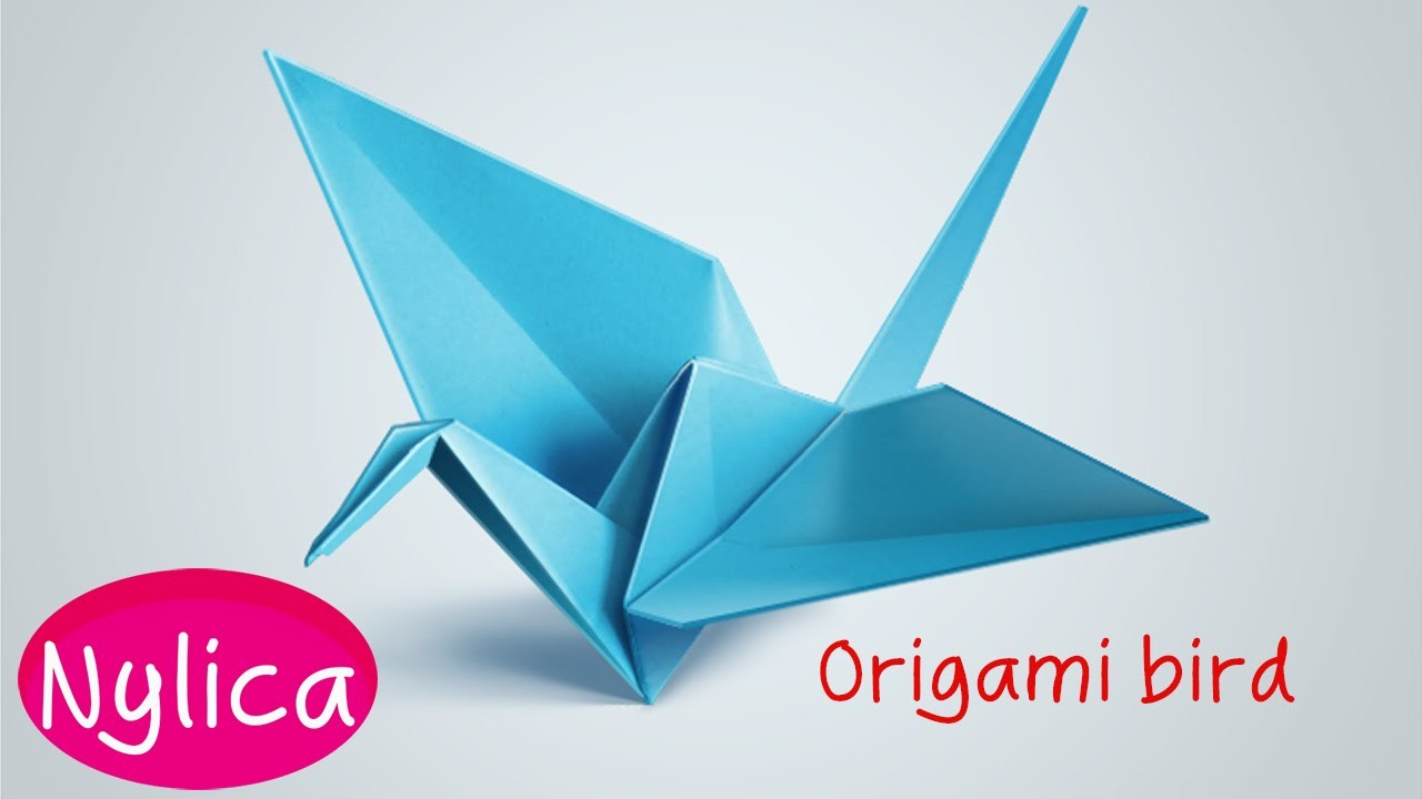 How to make folding origami bird | easy steps to making paper parrot | easy origami