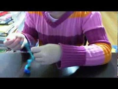 How to make rainbow loom basic barefoot sandals