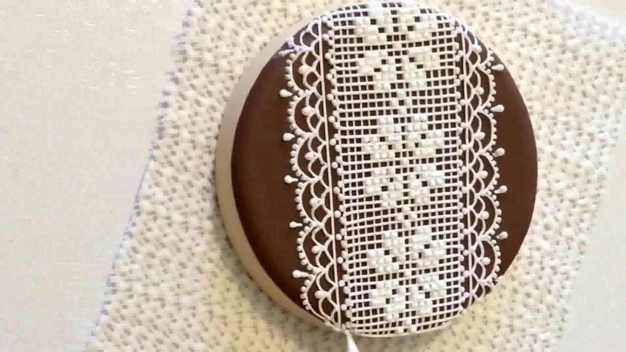 Lace cookie. Part 1.  My little bakery. CookieCon 2015.