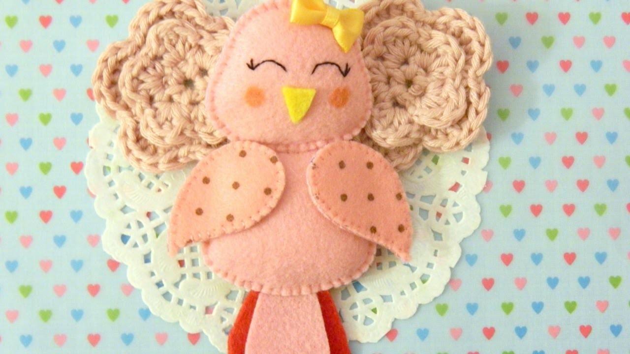Make an Adorable Felt Bird Ornament - DIY Home - Guidecentral