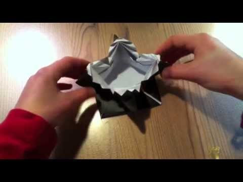 Making an Origami Box, Instructional Video, How-To