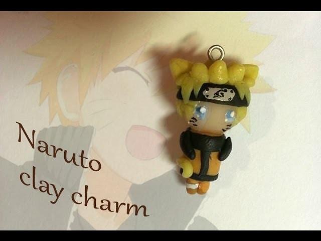 Naruto cat clay charm tutorial