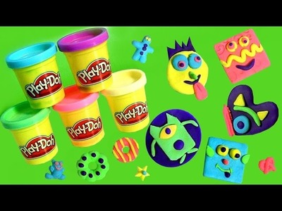 NEW Play Doh Cookie Monster Creations DIY Sweet Shoppe Biscoitos Dulces y Galletas PlayDough