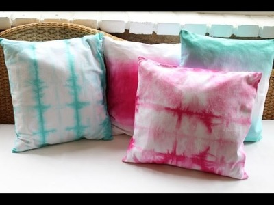 Ombre and Tie Dyed Pillows, DIY Decor