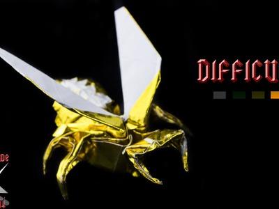 [ORIGAMI TUTORIAL] Wasp (Avispa - Anibal Voyer) || Animals.Complex