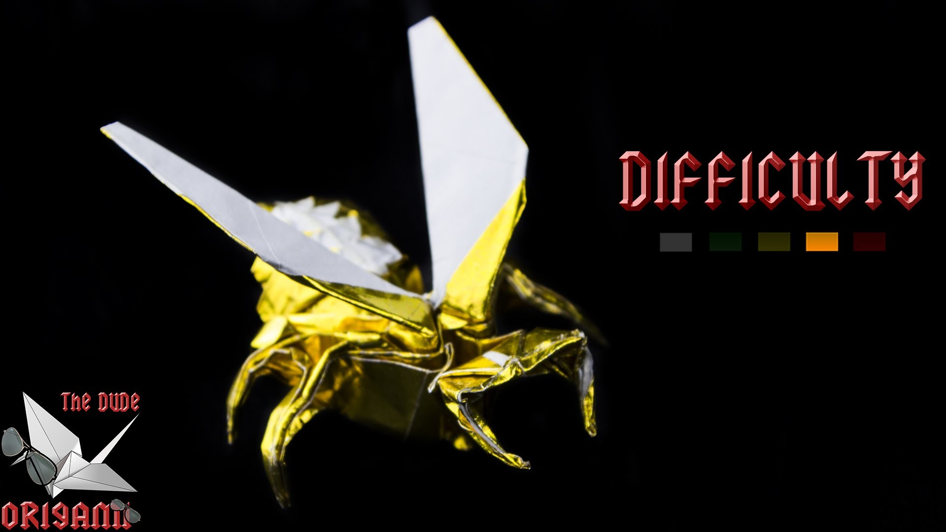 [ORIGAMI TUTORIAL] Wasp (Avispa - Anibal Voyer) || Animals.Complex