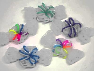 Peppermint Candy Rainbow Loom Charm Tutorial