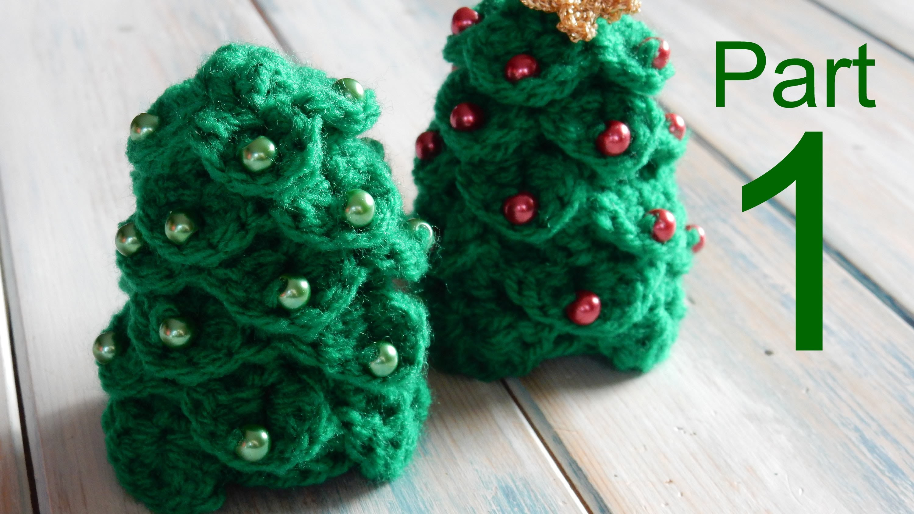 Prt1 Crocodile Stitch Mini Christmas Tree