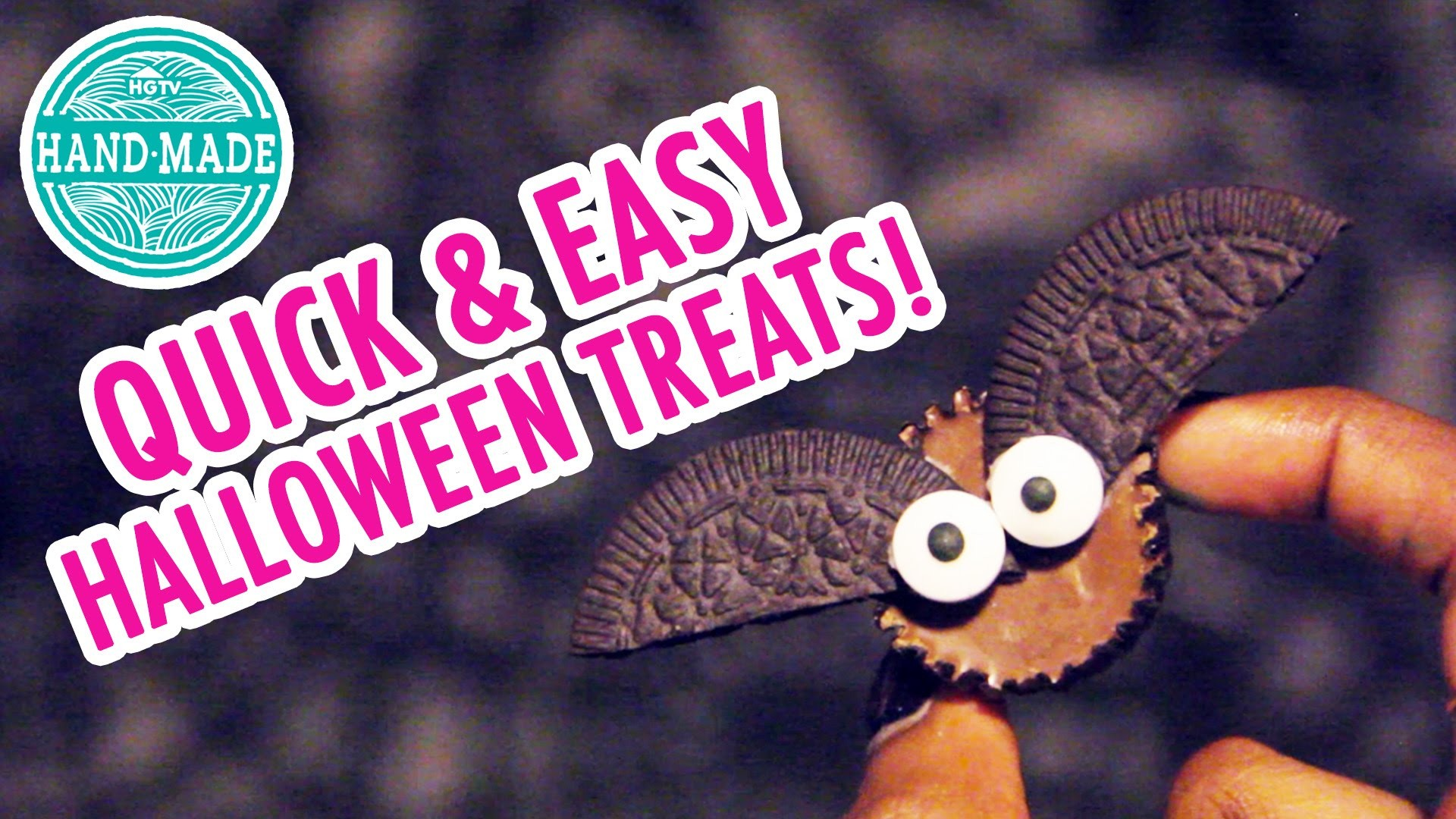 Quick & Easy Halloween Treats - HGTV Handmade