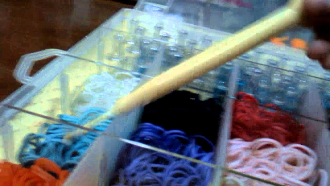 Rainbow Loom , Crazy Loom and DIY Bands with Case