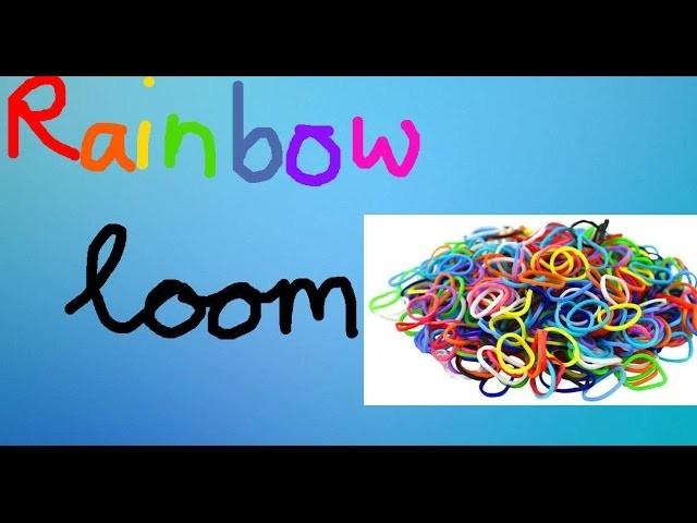 Rainbow loom Single Chain Tutorial