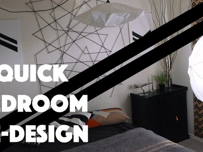 Redesigning my room - Quick Cheap DIY Ideas - Dorm or bedroom