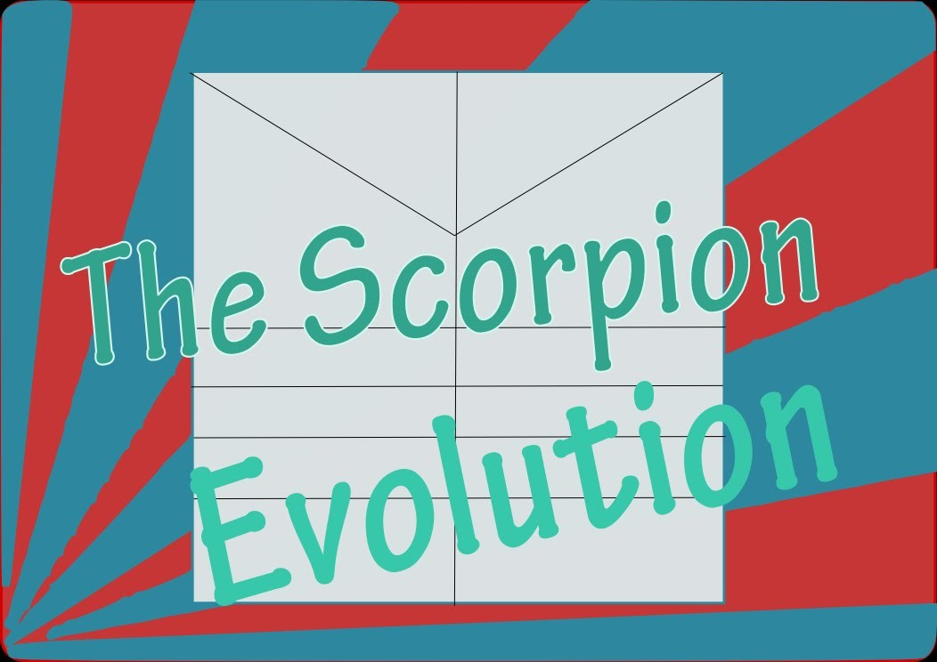 The Origami Scorpion 'Evolution'
