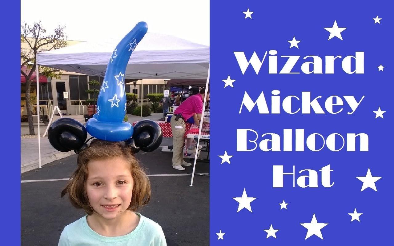 #3 Mickey Mouse Wizard Balloon Hat Tutorial