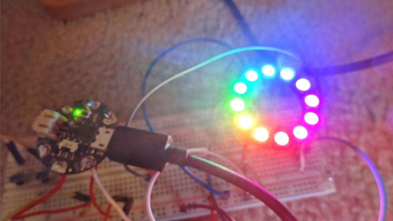 DIY Arduino Music Lights - paplaukias