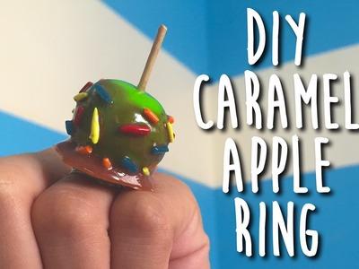 DIY Caramel Apple Ring