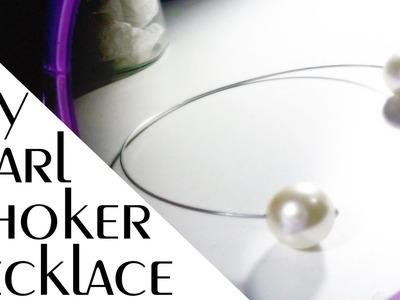 DIY - Chanel Inspired Pearl Choker