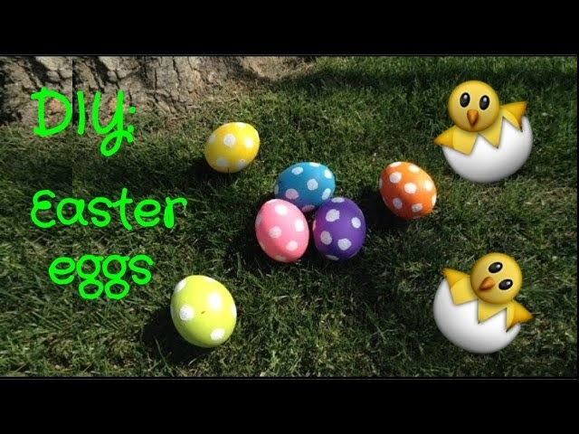 DIY Easter Eggs (with real eggs)