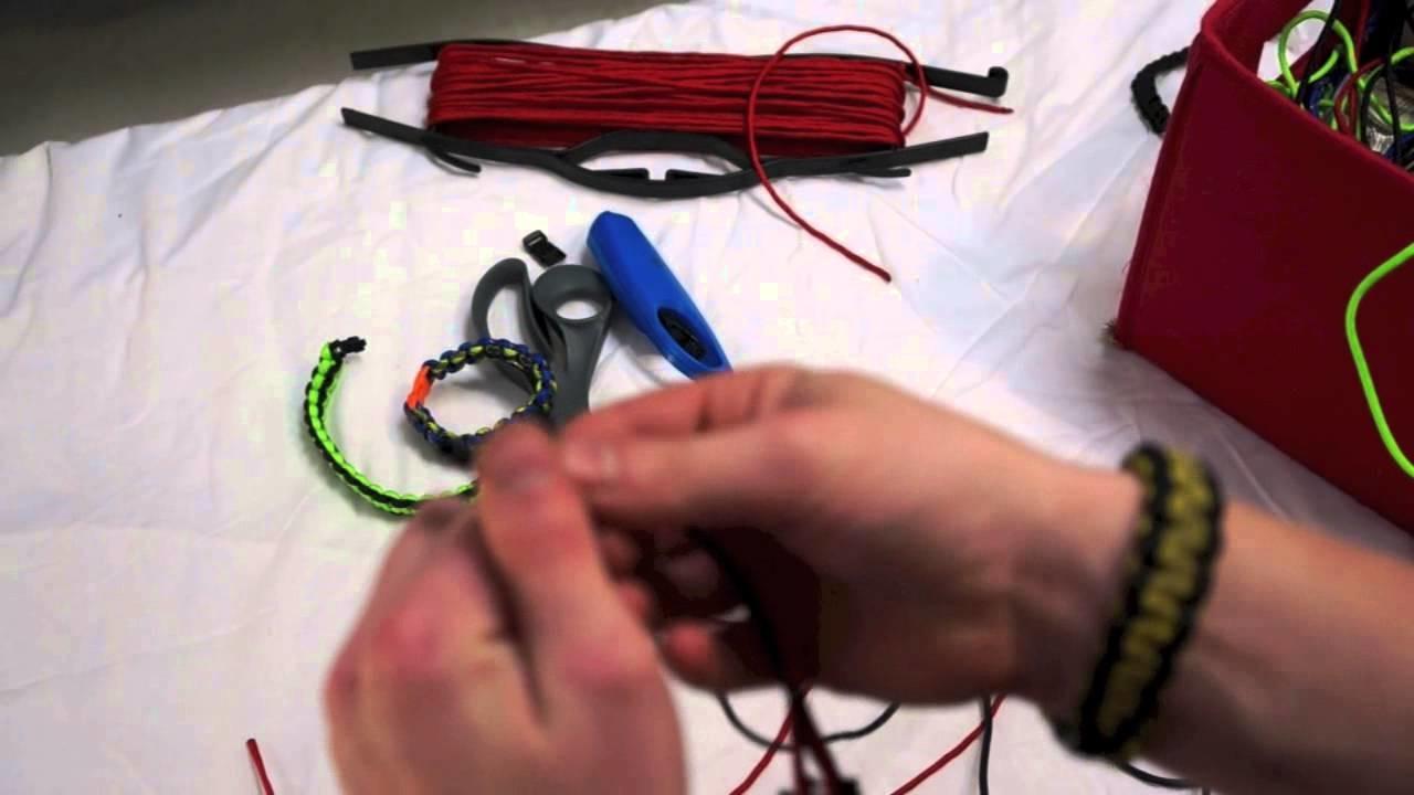 DIY Paracord Survival Bracelets