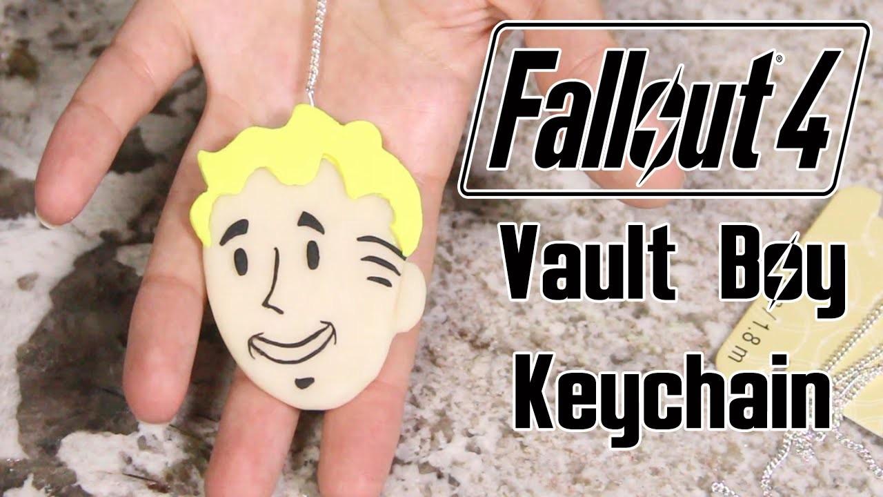 Fallout 4 Vault Boy Keychain ♥ DIY