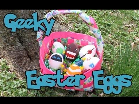 Giveaway Winner Announcement & Geeky Easter Egg Tutorial