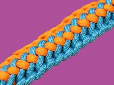 How to make a (TIAT's) Radiant Zipper Sinnet Paracord Bracelet Tutorial (Paracord 101)