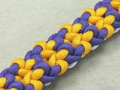 How to make a Vortex Bar Paracord Bracelet Tutorial (Paracord 101)
