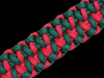 How to Make an Alligator Fang Paracord Bracelet Tutorial (Paracord 101)
