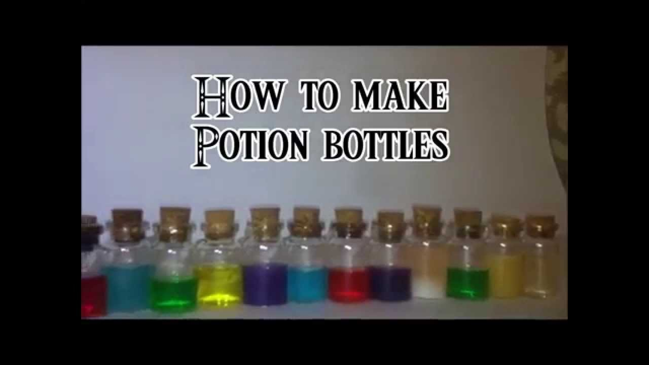 How to make potion bottle charms Tutorial (Legend of zelda style)