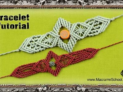 Macrame Sword Bracelet Tutorial | Macrame School