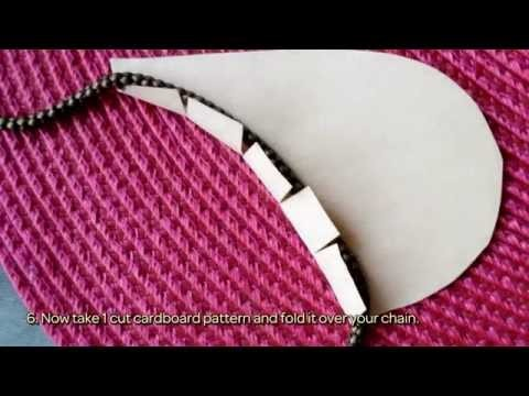 Make an Elegant Collar Pendant Necklace - DIY Style - Guidecentral