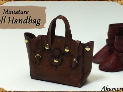 Miniature Doll Handbag - Fabric Tutorial