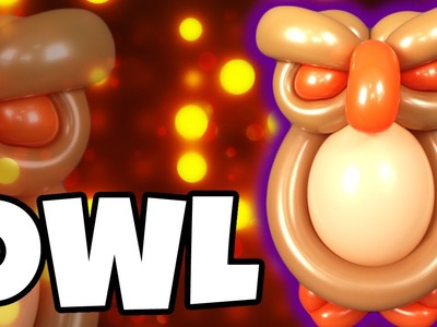 OWL Balloon Animal Tutorial with Holly & Cody Williams!