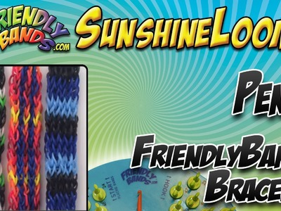 PENTA FriendlyBands Bracelet Tutorial