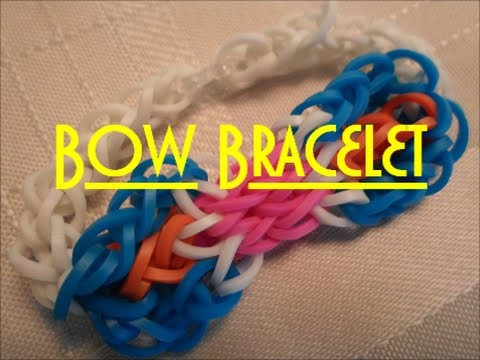 Simple Bow Bracelet Tutorial