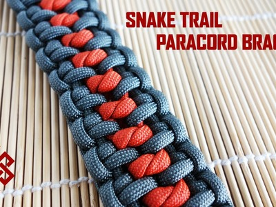 Snake Trail Paracord Bracelet Tutorial