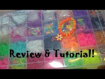 Talented Kidz 7,000+ Loom Band Combo Kit Review & Chevron Bracelet Tutorial!