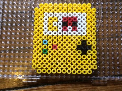 Tutorial hama pearl beads #1 gameboy