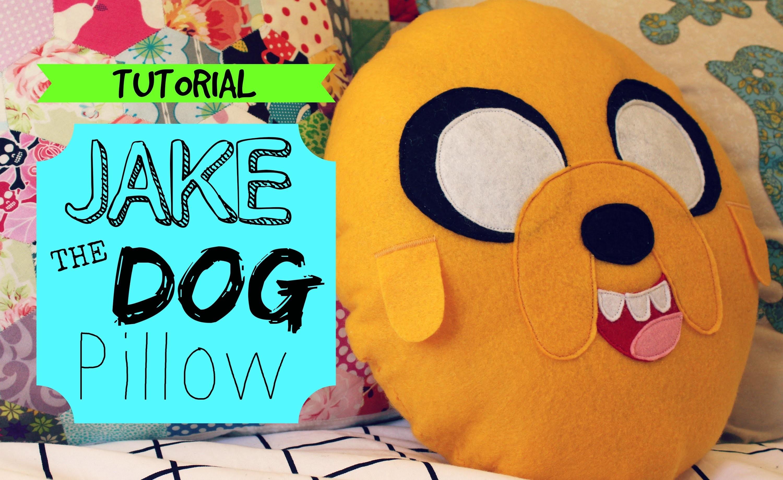 TUTORIAL: Jake The Dog Pillow