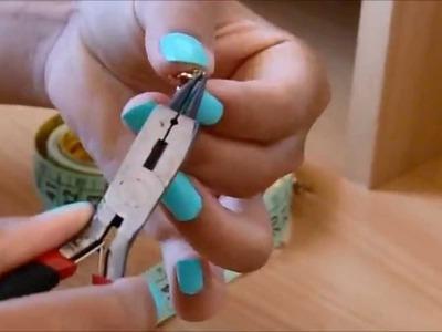 Tutorial - Pulseira para o Pé | DIY - Foot Bracelet